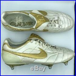 Nike Tiempo Air Zoom Legends UK 11.5 US 12.5 Superfly R10 Mania Vapor Ronaldinho