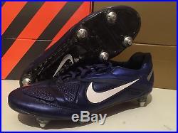 Nike Tiempo CTR360 Legend V FG BLUE Soccer Cleats 7,5 8,5 42 elite CTR