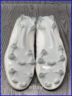 Nike Tiempo Flyknit Legend 8 Elite FG White AT5293-100. Size 4.5