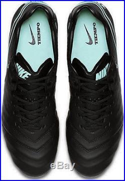 Nike Tiempo LEGEND VI SG-PRO Metal-SPIKES MEN's Professional Soccer Cleats Black