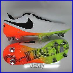 Nike Tiempo 6 Soccer Legend PRO White Futbol Orange SG w0myvNn8O