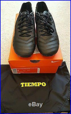 db4d9be1df5eb Nike Tiempo Legend 6 VI Size US 8 Academy Pack Blackout
