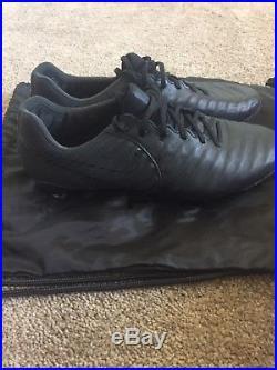 Nike Tiempo Legend VII FG Leder schwarz weiß 897752002 4657c6f48742