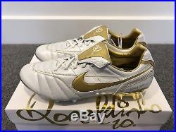 Nike Tiempo Legend 7 Elite 10R FG Ronaldinho Football Soccer Boots Cleats US 9