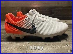 Nike Tiempo Legend 7 Elite Euphoria Pack White/Orange AH7238-119 Men's Size 8.5