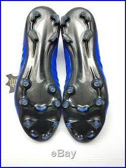 Nike Tiempo Legend 7 Elite FG ACC Blue Soccer Cleats AH7238-400 Men Size 10 New