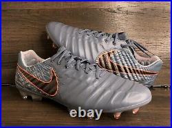 Nike Tiempo Legend 7 Elite FG ACC Flyknit Soccer Cleats AH7238-409 Mens Sz 11