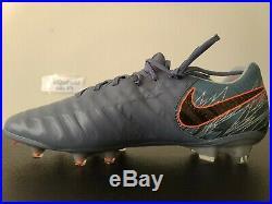 Nike Tiempo Legend 7 Elite FG ACC Flyknit Soccer Cleats AH7238-409 Sz 11.5 RARE