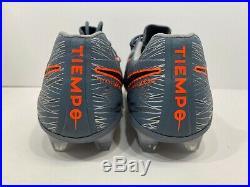 Nike Tiempo Legend 7 Elite FG ACC Soccer Cleats Grey AH7238 408 Men's Size 10