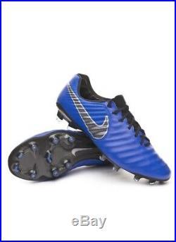 Nike Tiempo Legend 7 Elite FG ACC Soccer Cleatssize 10 BLUE AH7238-401