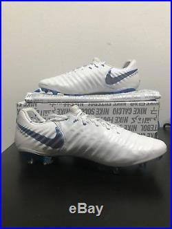 69e831a08ae Nike Tiempo Legend 7 Elite FG AH7238-107 White Soccer Cleats Just Do It S10