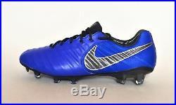 Nike Tiempo Legend 7 Elite FG AH7238-400 Racer Blue Soccer Cleats Size 10