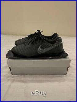 Nike Tiempo Legend 7 Elite FG Black Men's Size 10.5