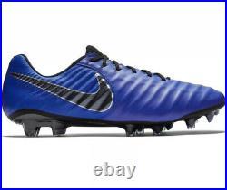 Nike Tiempo Legend 7 Elite FG Blue AH7238-400 Mens Sze 8 Womens 9.5 New With Box