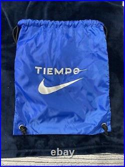 Nike Tiempo Legend 7 Elite FG Cleats Racer Blue/Black Size 9.5