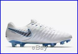 Nike Tiempo Legend 7 Elite FG Flyknit ACC White Uk Size 8
