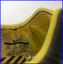 Nike Tiempo Legend 7 Elite FG Gray Black Yellow Mens Size 8.5 (AH7238-008)