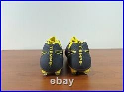 Nike Tiempo Legend 7 Elite FG Men's Soccer Cleats Grey Yellow AH7238-008 Size 8