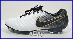 Nike Tiempo Legend 7 Elite FG Mens Soccer Cleats White Black Size 8