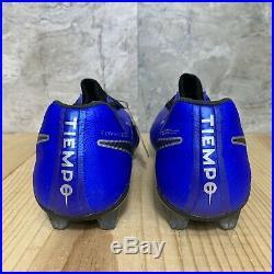 Nike Tiempo Legend 7 Elite FG Size 10.5 Soccer Cleats Mens Racer Blue Black