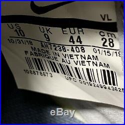 Nike Tiempo Legend 7 Elite FG Size 10 Gray Orange Black Soccer Cleats $230
