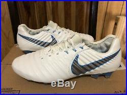 Nike Tiempo Legend 7 Elite FG Soccer Cleats (AH7238-107) Size 8