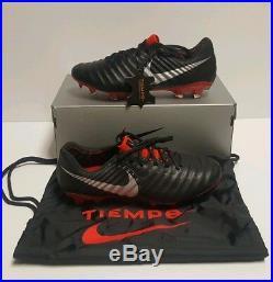 Nike Tiempo Legend 7 Elite FG Soccer Cleats Black/Metallic Size 8 AH7238-006 ACC