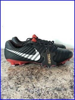 Nike Tiempo Legend 7 Elite FG Soccer Cleats Men's Size 8.5 AH7238-006 Black
