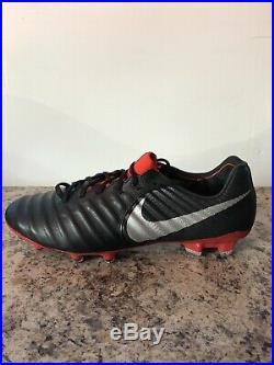 Nike Tiempo Legend 7 Elite FG Soccer Cleats Men's Size 9.5 AH7238-006