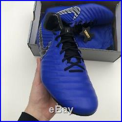 Nike Tiempo Legend 7 Elite Fg Acc Blue (ah7238-400) Uk10.5/eu45.5/us11.5