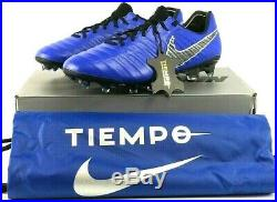 Nike Tiempo Legend 7 Elite Fg Mens Womens Soccer Cleats Ah7238-400 Blue $230