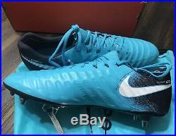 Nike Tiempo Legend 7 Elite SG-PRO Blue Men's Soccer Cleats Sz 15 921452-415 New