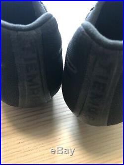 Nike Tiempo Legend 7 VII Elite Calfskin FG Black Cleats SZ US 10.5 AV1906-001