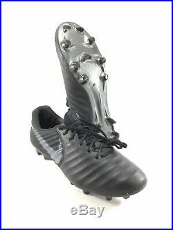 Nike Tiempo Legend 7 VII Elite FG ACC Black Mens Soccer Cleats Size 9 AV1906-001