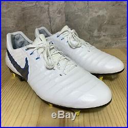 Nike Tiempo Legend 7 VII Elite SG-Pro AC Size 11 Blue White Soccer Cleats Italy