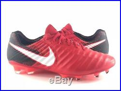 Nike Tiempo Legend 7 VII FG Mens Soccer Cleats Fire   Ice Pack Red Black   230 2d6d9c3de73