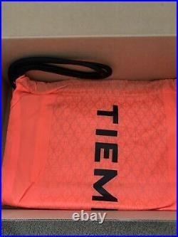 Nike Tiempo Legend 8 Elite FG ACC Black Total Orange Mens Size 10 CI7587-018