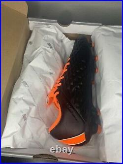 Nike Tiempo Legend 8 Elite FG ACC Black Total Orange Mens Size 12 CI7587-018