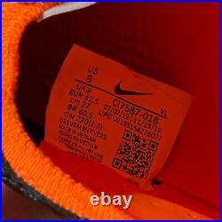 Nike Tiempo Legend 8 Elite FG ACC Black Total Orange Mens Size 9 CI7587-018