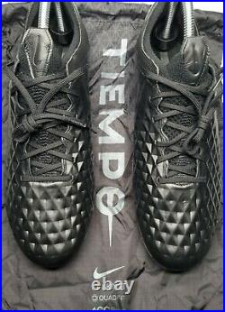 Nike Tiempo Legend 8 Elite FG ACC Kinetic BlackSize 9.5 With Bag AT5293-010