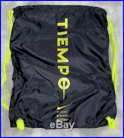 Nike Tiempo Legend 8 Elite FG Black-White-Volt Men Sz 9.5 /11 Womens RARE DEALZ