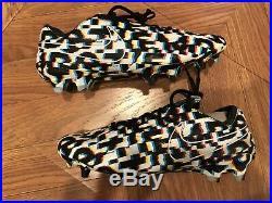 Nike Tiempo Legend 8 Elite FG Dazzle Soccer Cleats LE 262/888 Men's 8 CJ7237-110