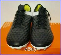 Nike Tiempo Legend 8 Elite FG Hyper Royal Black White Mens Sz 10 AT5293-007 NEW
