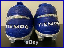 Nike Tiempo Legend 8 Elite FG Hyper Royal Blue/White AT5293-414 Mens Size 10