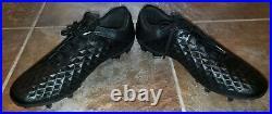 Nike Tiempo Legend 8 Elite FG Men's AT5293-010 Black Soccer Cleats Shoe Size 10