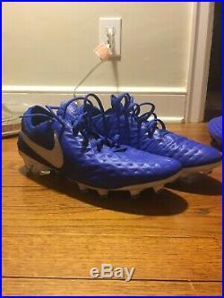 Nike Tiempo Legend 8 Elite FG Mens Size 10 Hyper Royal Blue/White AT5293-414