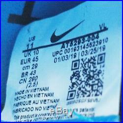 Nike Tiempo Legend 8 Elite FG Soccer Cleats Black Blue AT5293-004 Mens Size 11