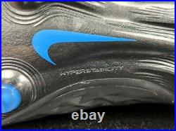 Nike Tiempo Legend 8 Elite FG Soccer Cleats Black Blue Mens 8.5 10.5 New