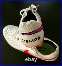 Nike Tiempo Legend 8 Elite FG White Men's Soccer Cleats AT5293 163 Size 8.5