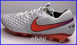 Nike Tiempo Legend 8 Elite Fg Flyknit Quadfit ACC AT5293-163 Soccer Cleats Sz 10